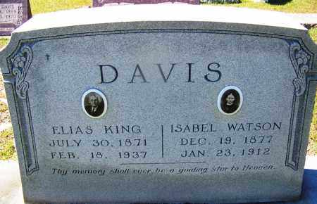 DAVIS, ISABEL - Ouachita County, Arkansas | ISABEL DAVIS - Arkansas Gravestone Photos