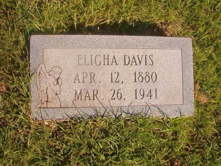 DAVIS, ELIGHA - Ouachita County, Arkansas | ELIGHA DAVIS - Arkansas Gravestone Photos