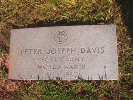 DAVIS (VETERAN WWII), PETER JOSEPH - Ouachita County, Arkansas | PETER JOSEPH DAVIS (VETERAN WWII) - Arkansas Gravestone Photos