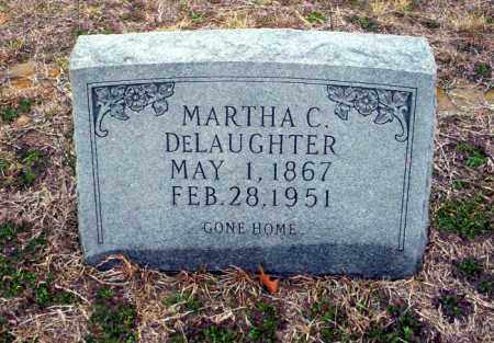 DELAUGHTER, MARTHA C - Ouachita County, Arkansas | MARTHA C DELAUGHTER - Arkansas Gravestone Photos