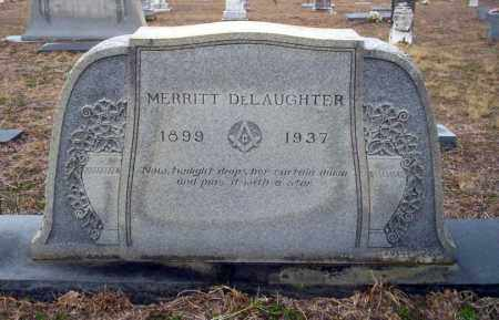 DELAUGHTER, MERRITT - Ouachita County, Arkansas | MERRITT DELAUGHTER - Arkansas Gravestone Photos