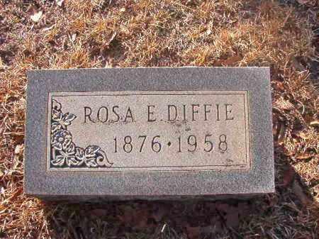 DIFFIE, ROSA E - Ouachita County, Arkansas | ROSA E DIFFIE - Arkansas Gravestone Photos