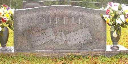 DIFFIE, KATE M - Ouachita County, Arkansas | KATE M DIFFIE - Arkansas Gravestone Photos