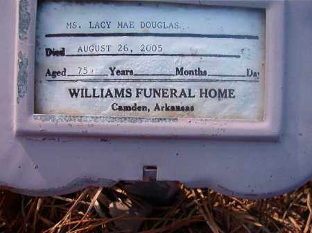 DOUGLAS, LACY MAE - Ouachita County, Arkansas | LACY MAE DOUGLAS - Arkansas Gravestone Photos