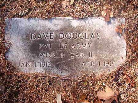 DOUGLAS (VETERAN WWII), DAVE - Ouachita County, Arkansas   DAVE DOUGLAS (VETERAN WWII) - Arkansas Gravestone Photos