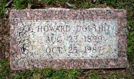 DOUTHIT, HOWARD - Ouachita County, Arkansas | HOWARD DOUTHIT - Arkansas Gravestone Photos