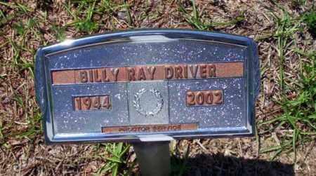 DRIVER, BILLY RAY - Ouachita County, Arkansas   BILLY RAY DRIVER - Arkansas Gravestone Photos