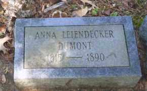LEIENDECKER DUMONT, ANNA - Ouachita County, Arkansas | ANNA LEIENDECKER DUMONT - Arkansas Gravestone Photos