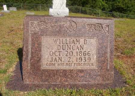 DUNCAN, WILLIAM D - Ouachita County, Arkansas | WILLIAM D DUNCAN - Arkansas Gravestone Photos