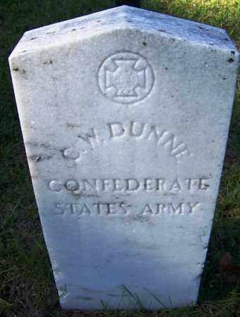 DUNNE (VETERAN CSA), C W - Ouachita County, Arkansas | C W DUNNE (VETERAN CSA) - Arkansas Gravestone Photos