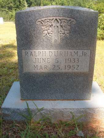 DURHAM, JR, RALPH - Ouachita County, Arkansas   RALPH DURHAM, JR - Arkansas Gravestone Photos