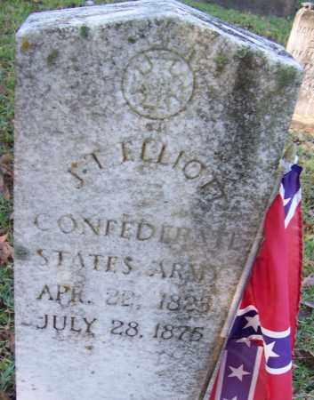 ELLIOTT (VETERAN CSA), JAMES THOMAS - Ouachita County, Arkansas | JAMES THOMAS ELLIOTT (VETERAN CSA) - Arkansas Gravestone Photos