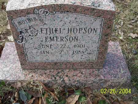 HOPSON EMERSON, ETHEL - Ouachita County, Arkansas | ETHEL HOPSON EMERSON - Arkansas Gravestone Photos