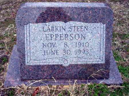EPPERSON, LARKIN STEEN - Ouachita County, Arkansas | LARKIN STEEN EPPERSON - Arkansas Gravestone Photos
