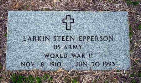 EPPERSON (VETERAN WWII), LARKIN STEEN - Ouachita County, Arkansas   LARKIN STEEN EPPERSON (VETERAN WWII) - Arkansas Gravestone Photos