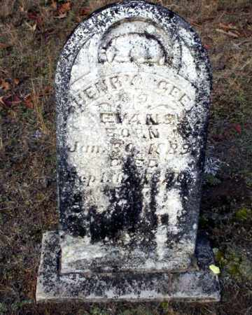 EVANS, HENRY GEE - Ouachita County, Arkansas   HENRY GEE EVANS - Arkansas Gravestone Photos