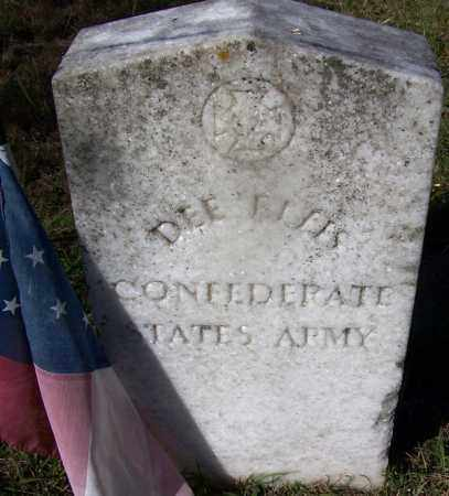 FILES (VETERAN CSA), DEE - Ouachita County, Arkansas | DEE FILES (VETERAN CSA) - Arkansas Gravestone Photos