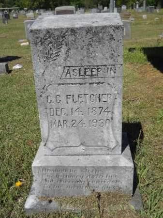 FLETCHER, C.C. - Ouachita County, Arkansas | C.C. FLETCHER - Arkansas Gravestone Photos