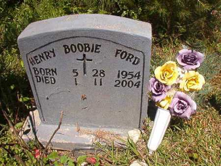 "FORD, HENRY ""BOOBIE"" - Ouachita County, Arkansas | HENRY ""BOOBIE"" FORD - Arkansas Gravestone Photos"