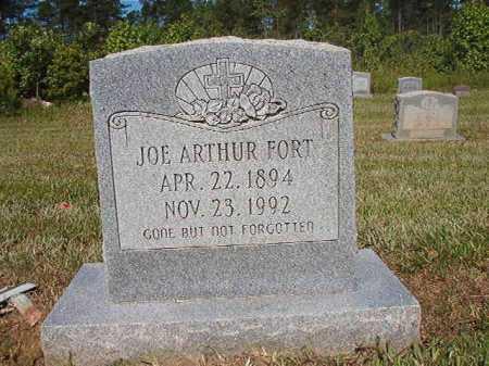 FORT, JOE ARTHUR - Ouachita County, Arkansas   JOE ARTHUR FORT - Arkansas Gravestone Photos