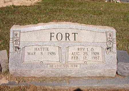 FORT, REV, L O - Ouachita County, Arkansas | L O FORT, REV - Arkansas Gravestone Photos