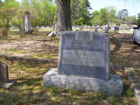 WILLIAMS FRAZIER, EMMA - Ouachita County, Arkansas | EMMA WILLIAMS FRAZIER - Arkansas Gravestone Photos