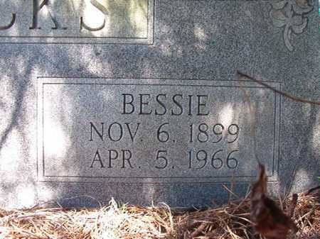 FRICKS, BESSIE - Ouachita County, Arkansas | BESSIE FRICKS - Arkansas Gravestone Photos
