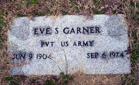 GARNER  (VETERAN), EVE S - Ouachita County, Arkansas | EVE S GARNER  (VETERAN) - Arkansas Gravestone Photos