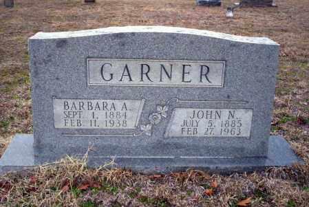 GARNER, JOHN N - Ouachita County, Arkansas | JOHN N GARNER - Arkansas Gravestone Photos