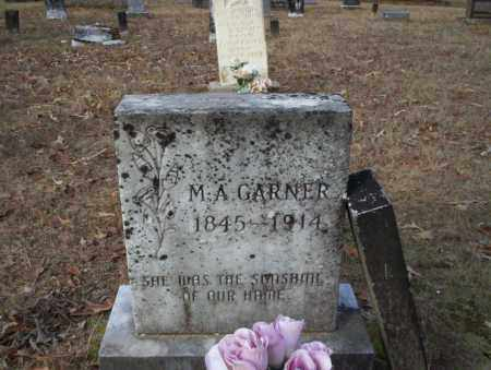 GARNER, M.A. - Ouachita County, Arkansas | M.A. GARNER - Arkansas Gravestone Photos
