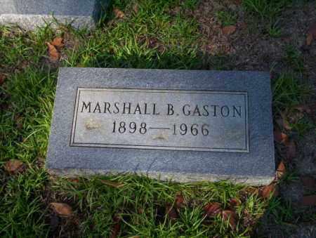 GASTON, MARSHALL B - Ouachita County, Arkansas   MARSHALL B GASTON - Arkansas Gravestone Photos