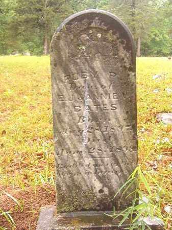 GATES, RUBY P - Ouachita County, Arkansas | RUBY P GATES - Arkansas Gravestone Photos
