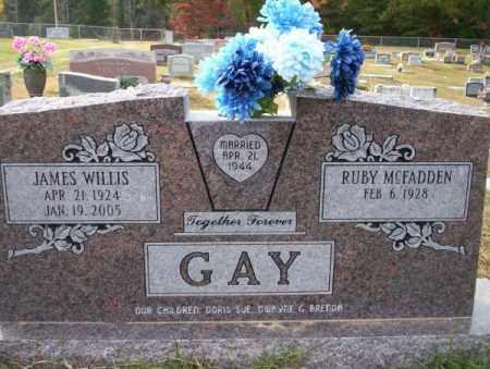 GAY, JAMES WILLIS - Ouachita County, Arkansas | JAMES WILLIS GAY - Arkansas Gravestone Photos
