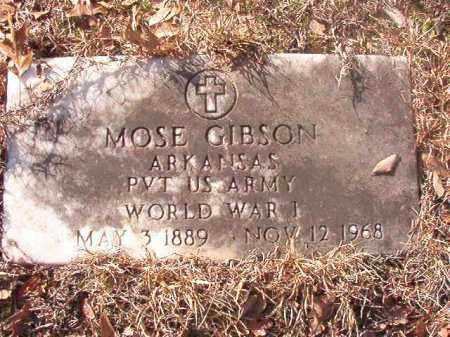 GIBSON (VETERAN WWI), MOSE - Ouachita County, Arkansas | MOSE GIBSON (VETERAN WWI) - Arkansas Gravestone Photos