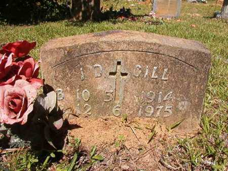 GILL, I D - Ouachita County, Arkansas   I D GILL - Arkansas Gravestone Photos