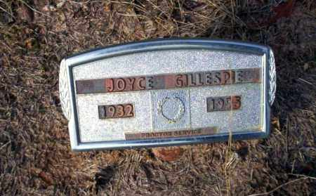 GILLESPIE, JOYCE - Ouachita County, Arkansas | JOYCE GILLESPIE - Arkansas Gravestone Photos