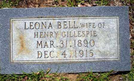 BELL GILLESPIE, LEONA - Ouachita County, Arkansas | LEONA BELL GILLESPIE - Arkansas Gravestone Photos