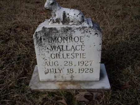 GILLESPIE, MONROE WALLACE - Ouachita County, Arkansas | MONROE WALLACE GILLESPIE - Arkansas Gravestone Photos