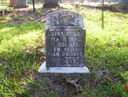 GOLDEN, LOIS L - Ouachita County, Arkansas | LOIS L GOLDEN - Arkansas Gravestone Photos