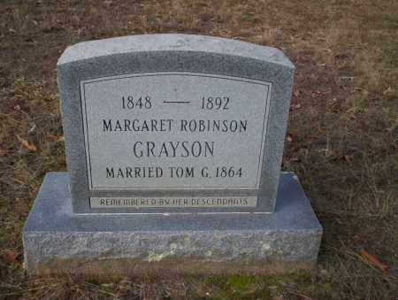 ROBINSON GRAYSON, MARGARET - Ouachita County, Arkansas | MARGARET ROBINSON GRAYSON - Arkansas Gravestone Photos