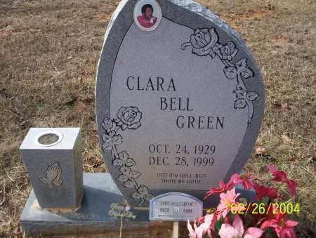 GREEN, CLARA BELL - Ouachita County, Arkansas   CLARA BELL GREEN - Arkansas Gravestone Photos