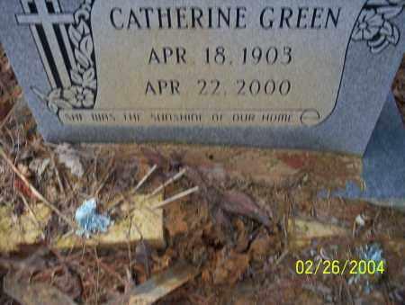 GREEN, CATHERINE - Ouachita County, Arkansas | CATHERINE GREEN - Arkansas Gravestone Photos