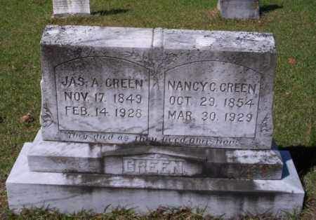 GREEN, NANCY CAROLINE - Ouachita County, Arkansas | NANCY CAROLINE GREEN - Arkansas Gravestone Photos