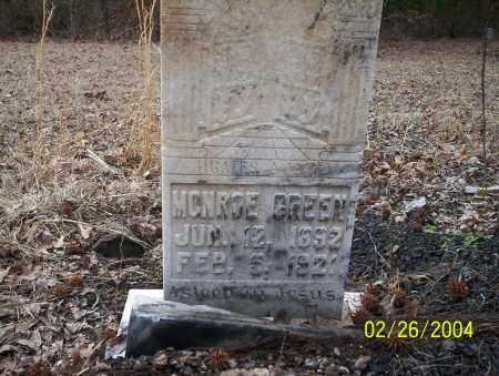 GREEN, MONROE - Ouachita County, Arkansas | MONROE GREEN - Arkansas Gravestone Photos