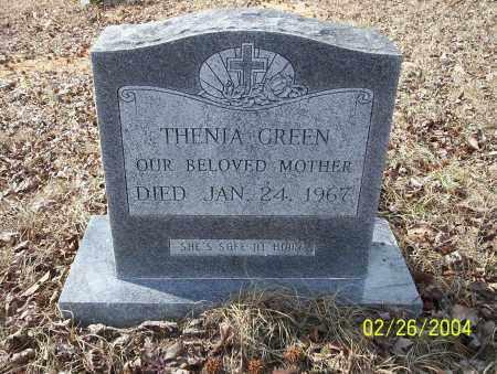 GREEN, THENIA - Ouachita County, Arkansas   THENIA GREEN - Arkansas Gravestone Photos