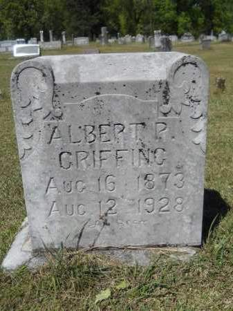 GRIFFING, ALBERT PETERSON - Ouachita County, Arkansas | ALBERT PETERSON GRIFFING - Arkansas Gravestone Photos