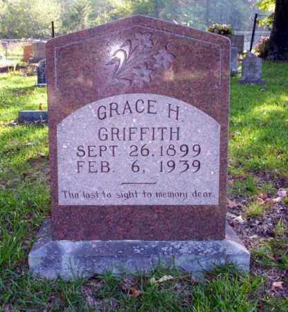 GRIFFITH, GRACE H - Ouachita County, Arkansas   GRACE H GRIFFITH - Arkansas Gravestone Photos