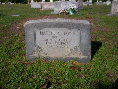GULLEY, MATTIE G - Ouachita County, Arkansas | MATTIE G GULLEY - Arkansas Gravestone Photos