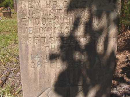 GULLEY, REV, H B - Ouachita County, Arkansas   H B GULLEY, REV - Arkansas Gravestone Photos
