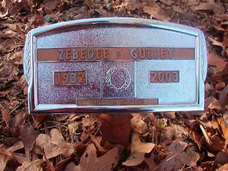 GULLEY, ZEBEDEE - Ouachita County, Arkansas   ZEBEDEE GULLEY - Arkansas Gravestone Photos